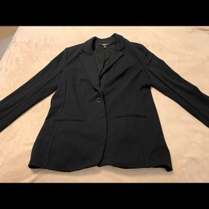 Mossimo Black Cotton Boyfriend Jacket